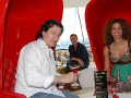 Cannes, International Film Festival, Yvonne Maria Schaefer attends the  Martini Lounge,