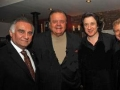Yvonne Maria Schaefer ,Paul Sorvino, Tony LoBianco, Roco at Federico Castelluccio's Birthday Celebration