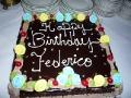 Frederico's Birthday Cake