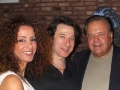 Actors Frederico Castelluccio, Yvonne Maria Schaefer and Paul Sorvino, in New York City