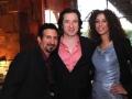 Federico Castelluccio, Yvonne Maria Schaefer, attend the Sopranos cast meet and greet at Mount Airy Casino Resort in Mount Pocono, Pennsylvania