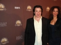Actor Federico Castelluccio Actress Yvonne Maria Schaefer attend the New York City ,Premiere of Milton Hershey