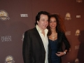 Actor Federico Castelluccio , Actress Yvonne Maria Schaefer attend the New York City Premiere of Milton Hershey