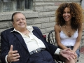 Lily of the Feast, set photos, Yvonne Maria Schaefer, Paul Sorvino